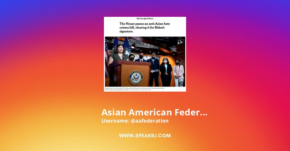 Asian American Federation Instagram Stats