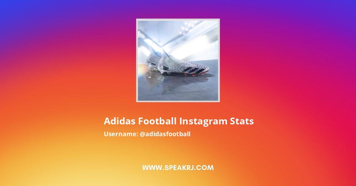 adidas Football Instagram Stats