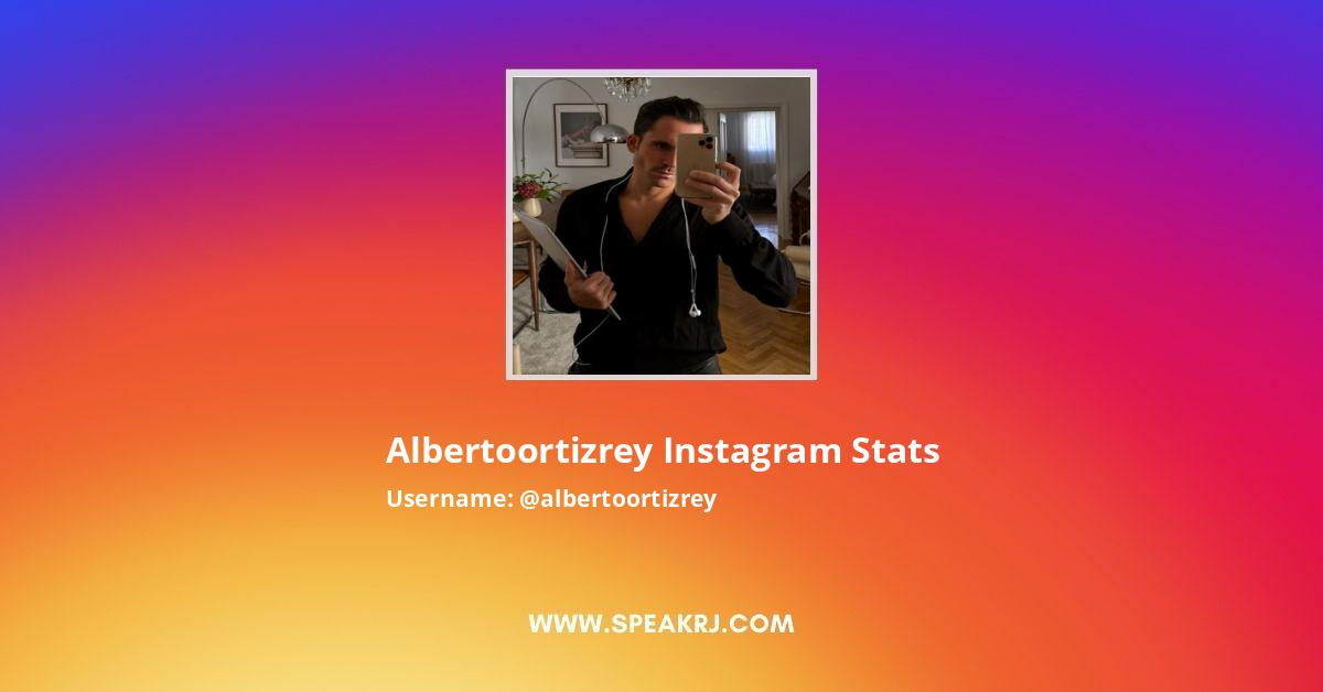 albertoortizrey Instagram Stats