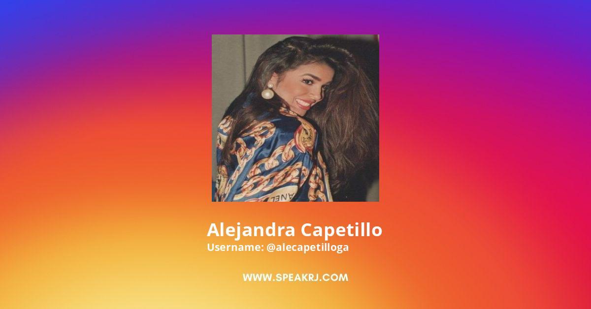 Alejandra Capetillo Instagram Stats