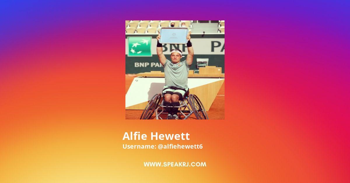 Alfie Hewett Instagram Stats