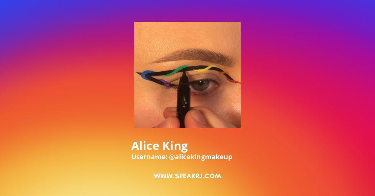Alice King Instagram Stats