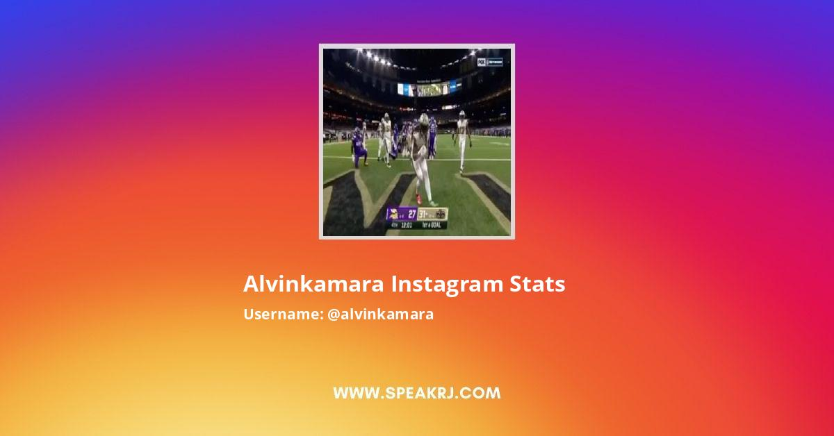 alvinkamara Instagram Stats