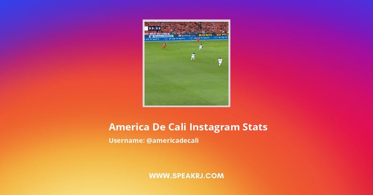 Americadecali Instagram Stats