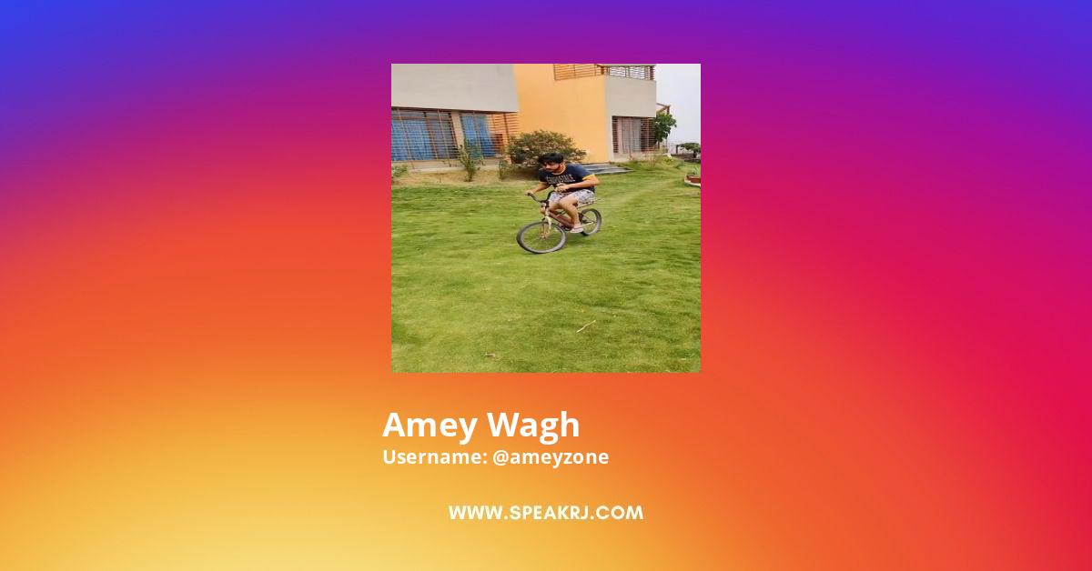 amey wagh Instagram Stats