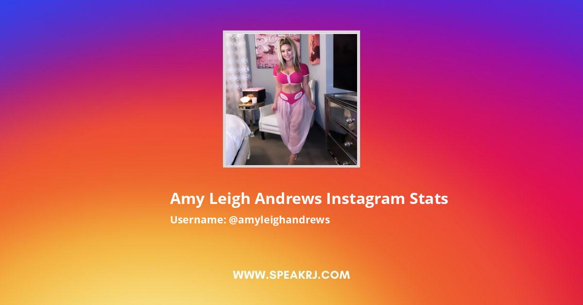 Amy Leigh Andrews Instagram Stats