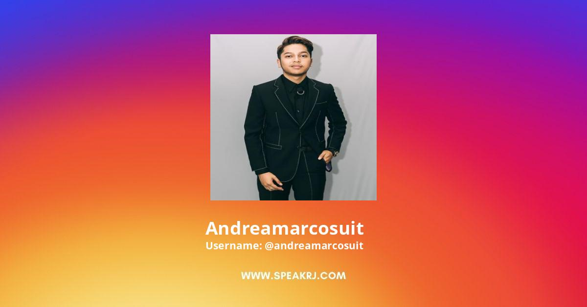 Andreamarcosuit Instagram Stats