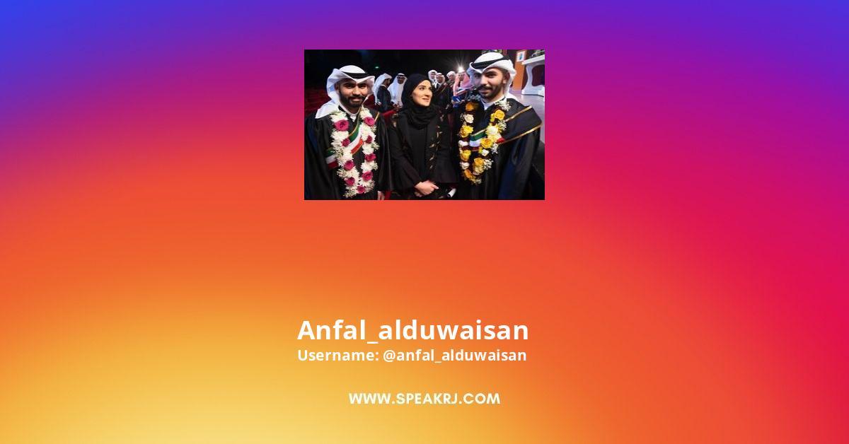 Anfal_alduwaisan Instagram Stats