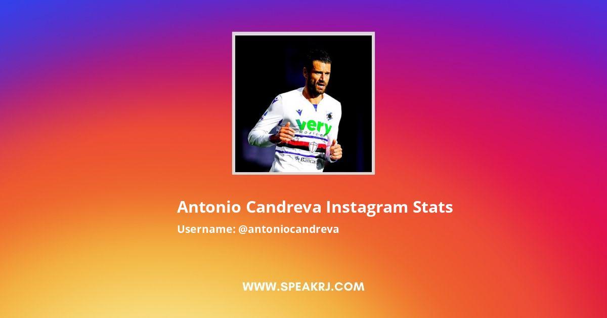 Antonio Candreva Instagram Stats