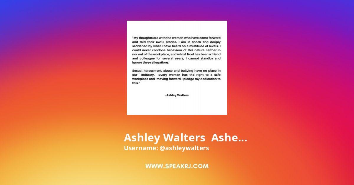 Ashleywalters Instagram Stats