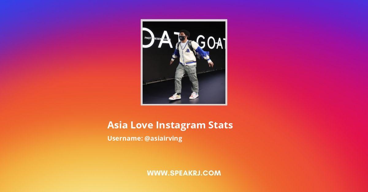 Asia Love Instagram Stats