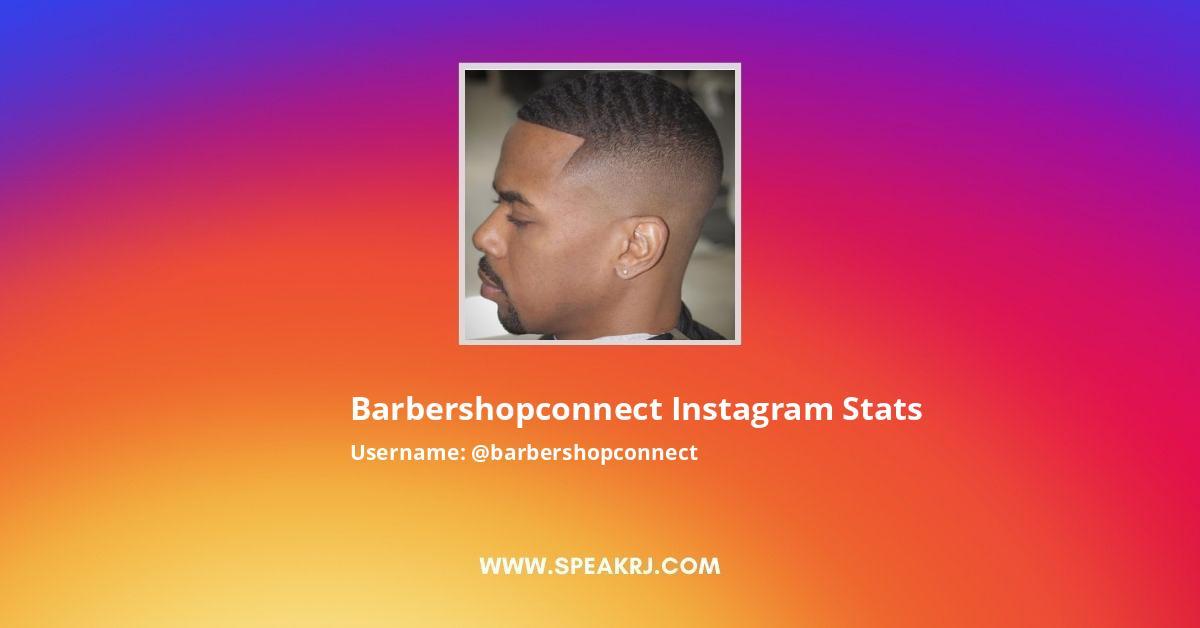 Barbershopconnect Instagram Stats