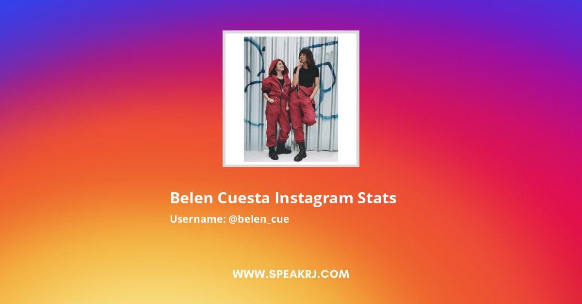 Belen_cue Instagram Stats