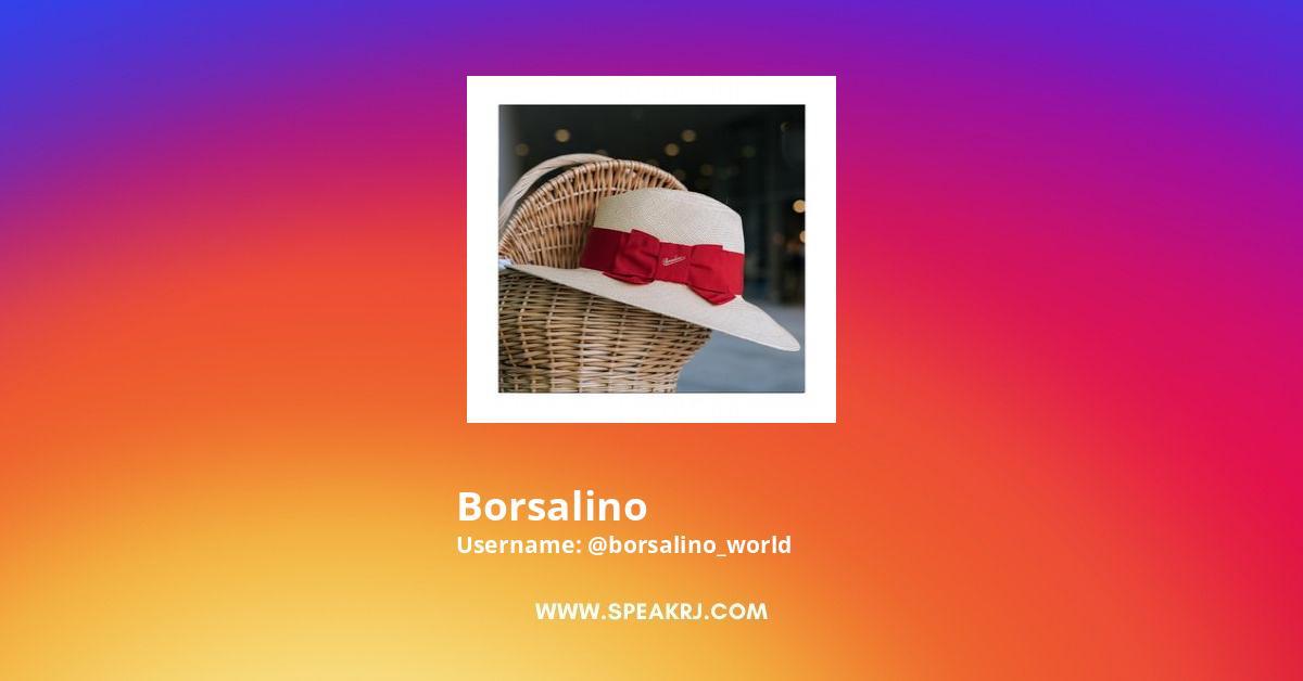 Borsalino Instagram Stats