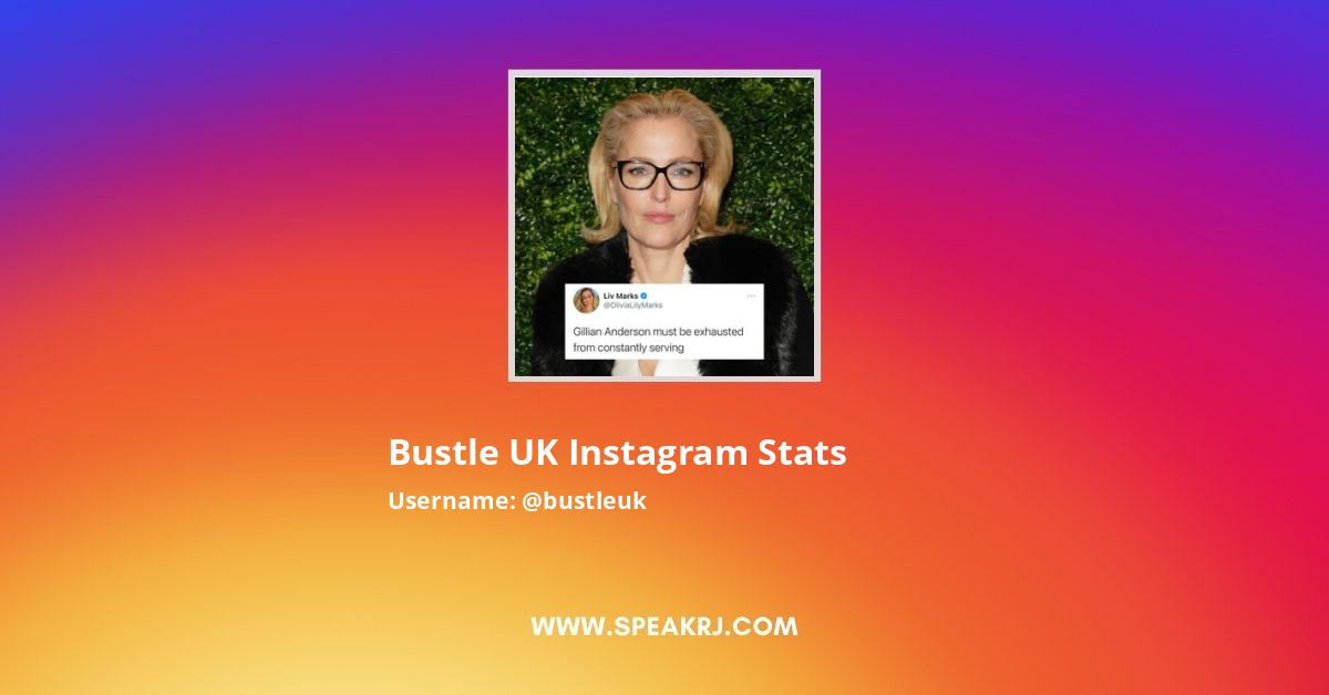 Bustle UK Instagram Stats
