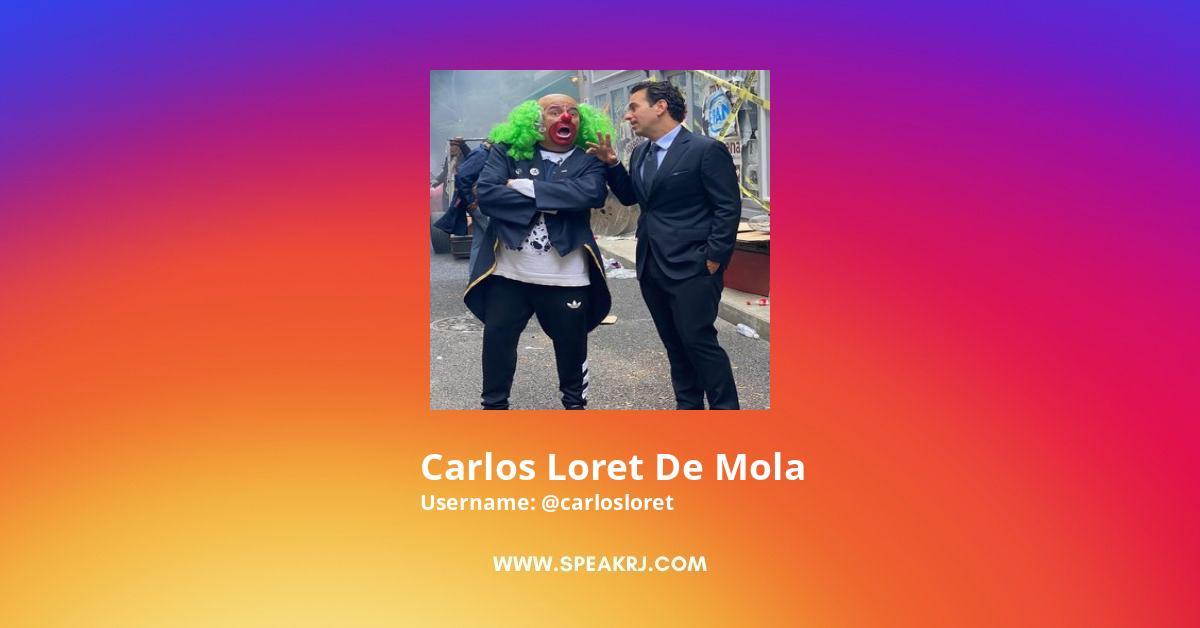 Carlos Loret de Mola Instagram Stats