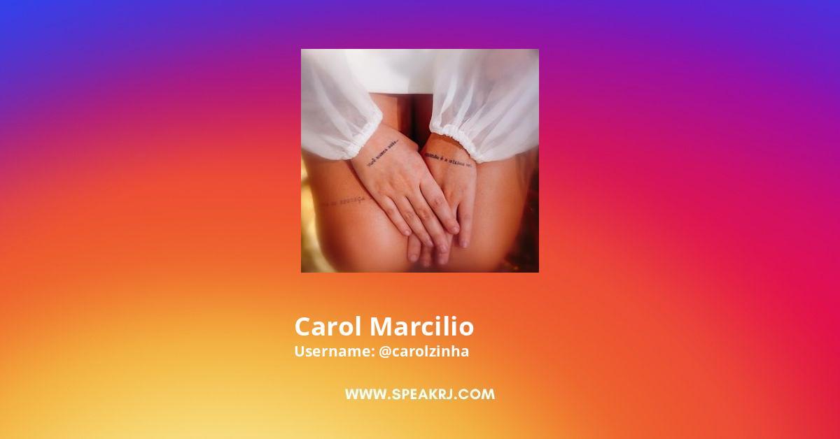Carol Marcilio Instagram Stats