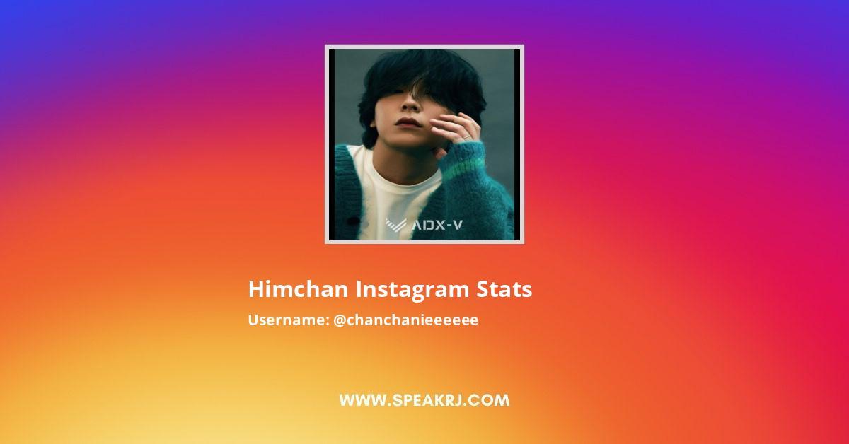 Himchan Instagram Stats