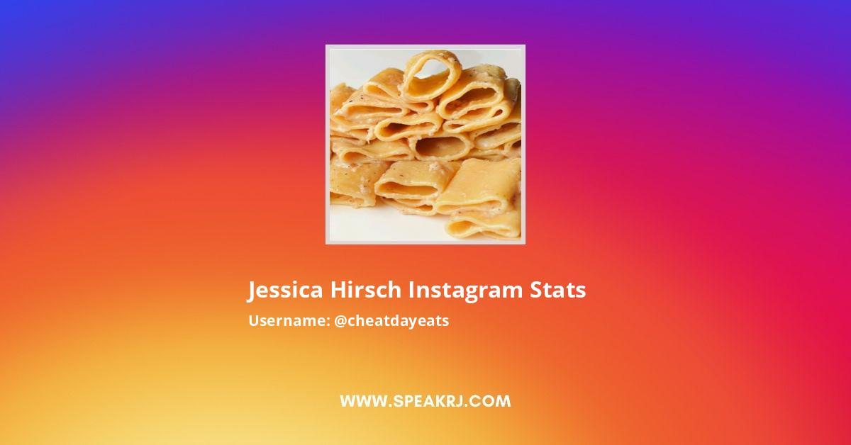 Jessica Hirsch Instagram Stats
