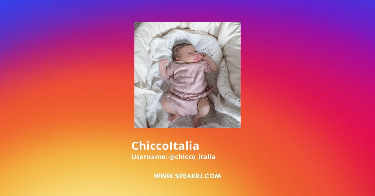 Chicco_italia Instagram Stats