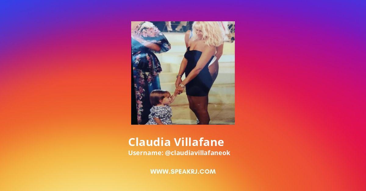 Claudiavillafaneok Instagram Stats