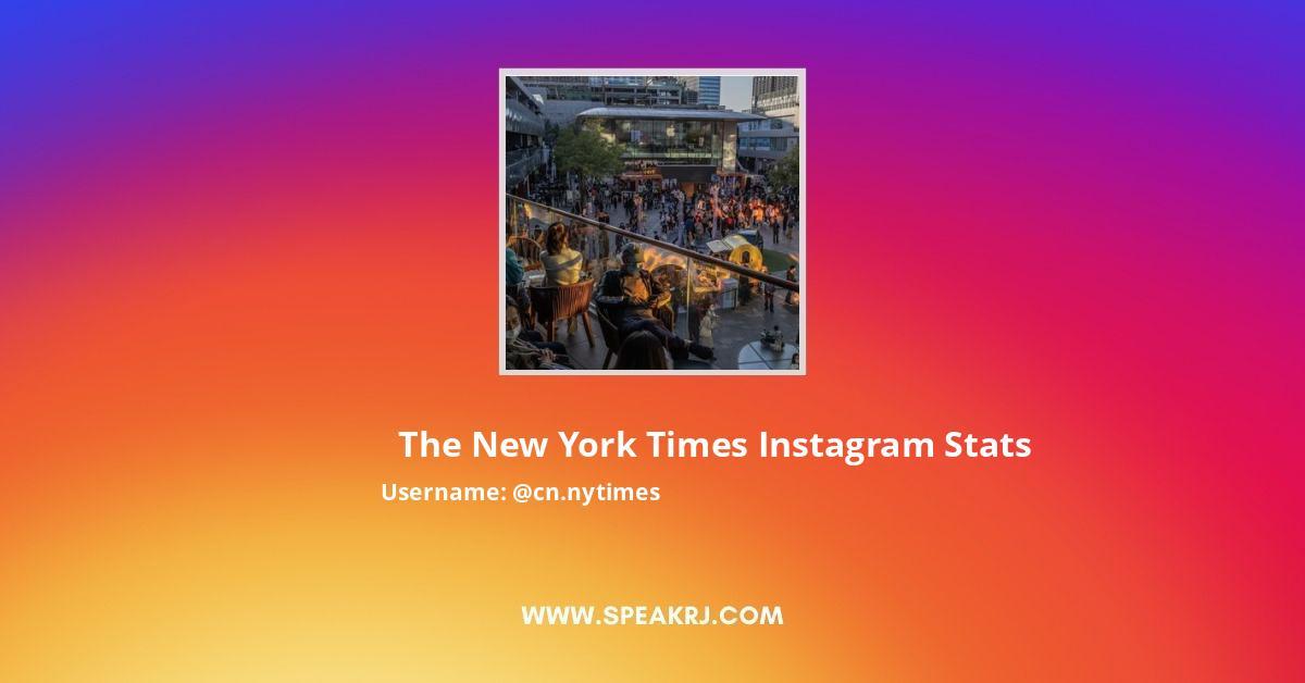 Cn.nytimes Instagram Stats