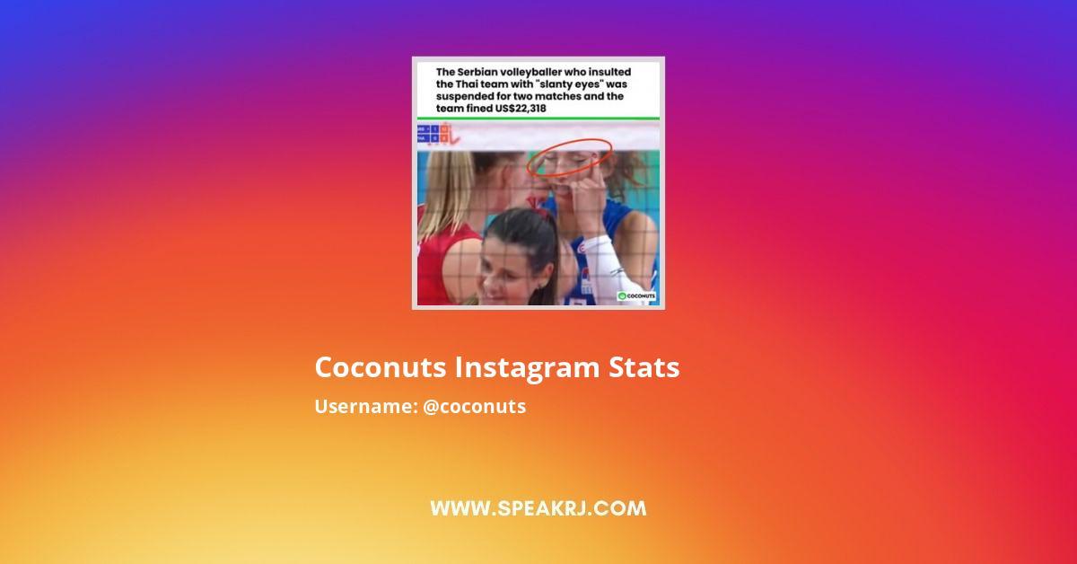 Coconuts Instagram Stats
