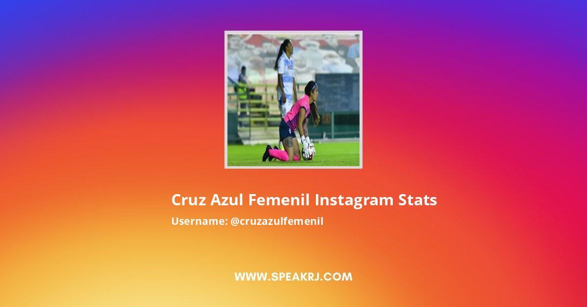 Cruz Azul Femenil Instagram Stats