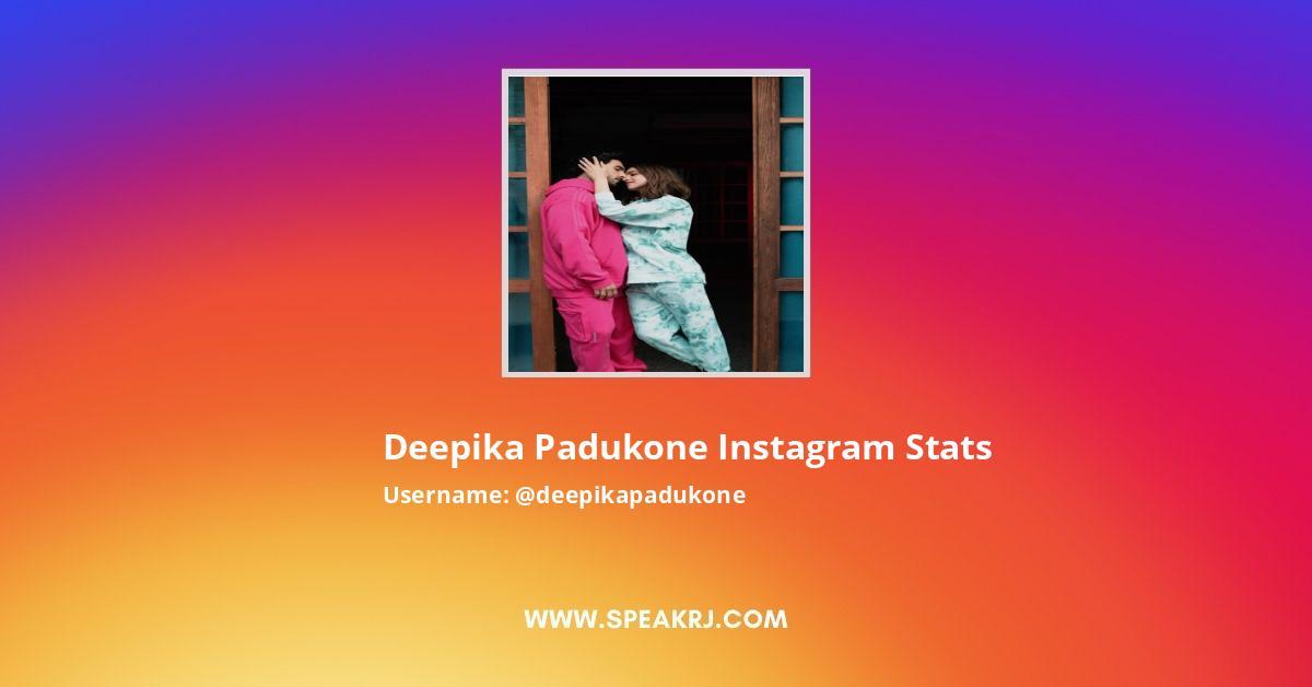 Deepika Padukone Instagram Followers Statistics ...
