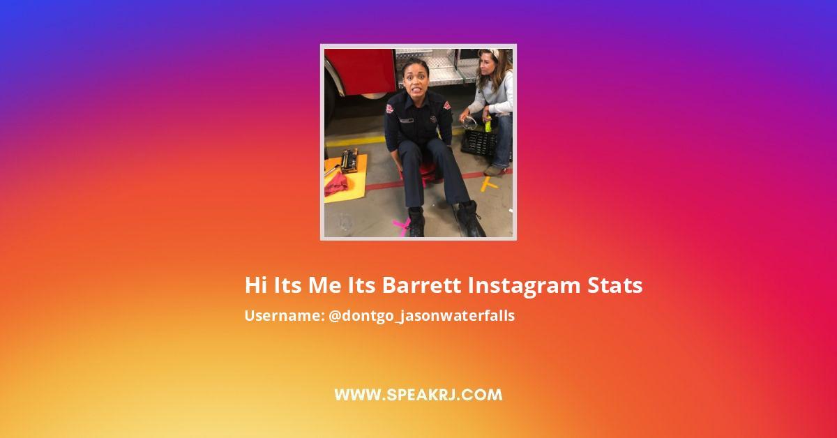 Dontgo_jasonwaterfalls Instagram Stats