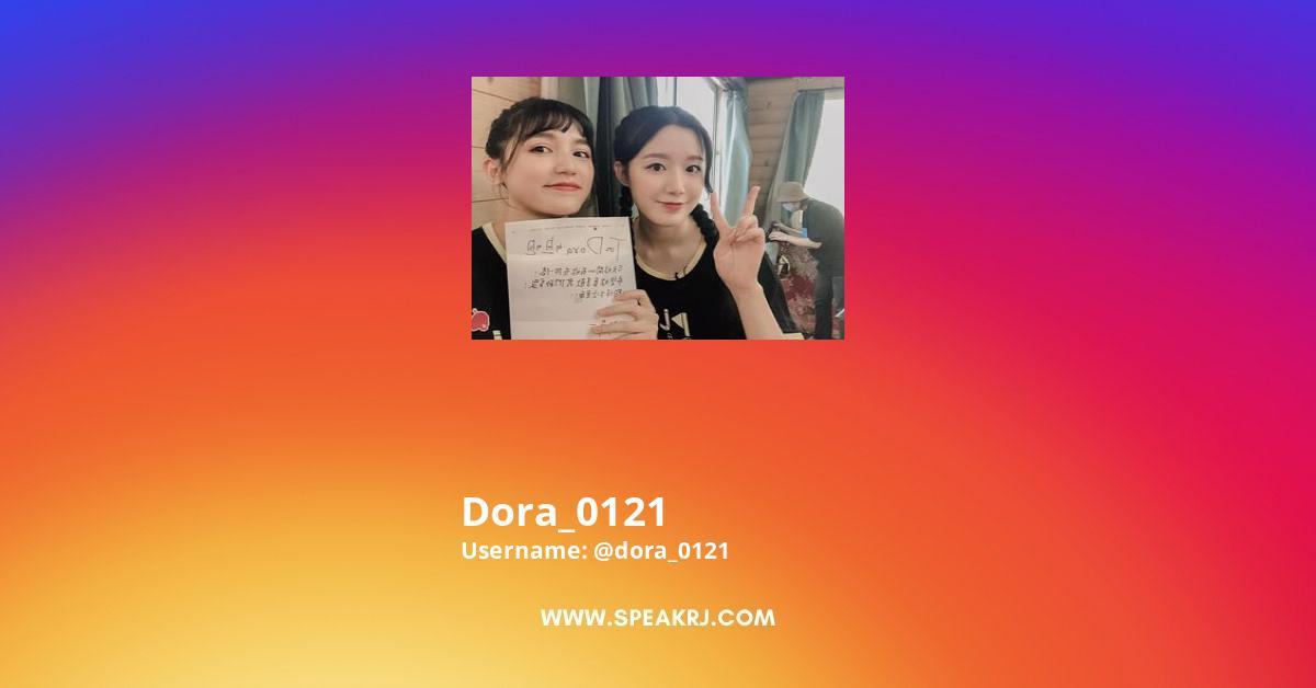 Dora_0121 Instagram Stats