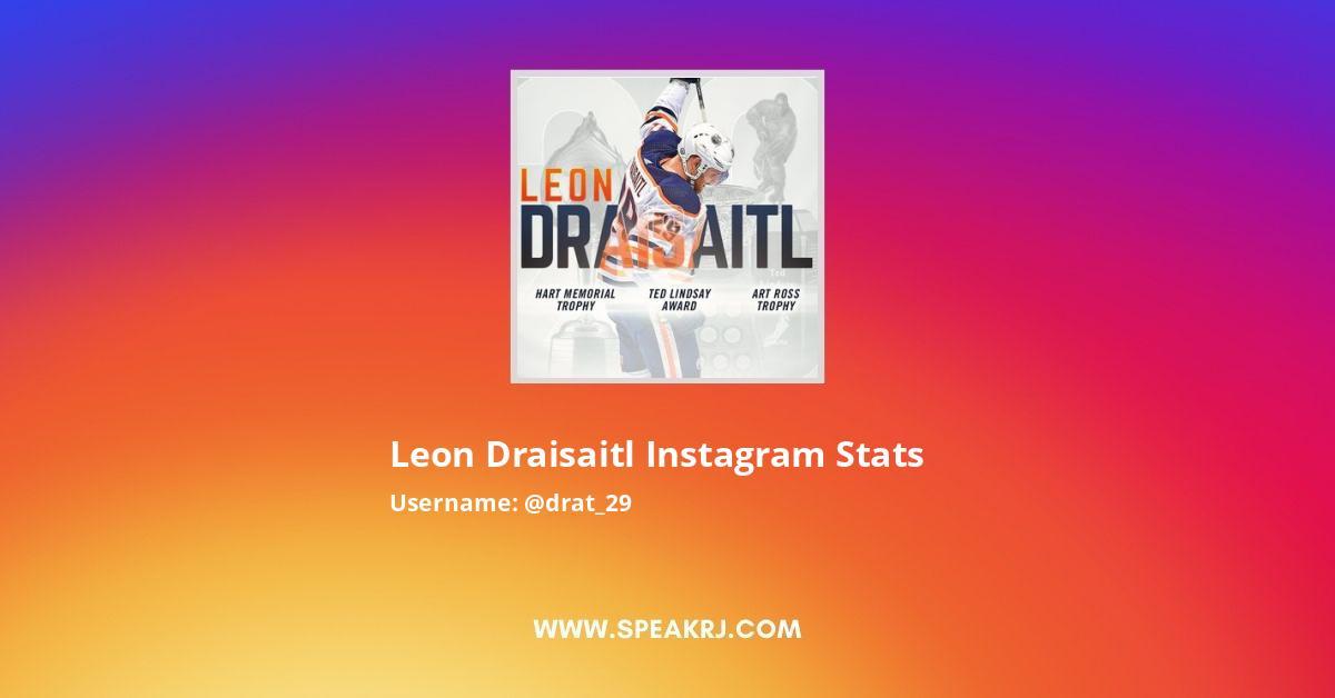 Leon Draisaitl Instagram Stats