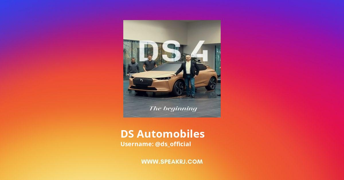 DS Automobiles Instagram Stats