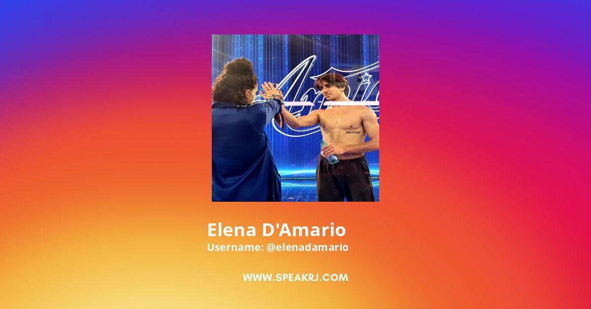 Elena d'Amario Instagram Stats