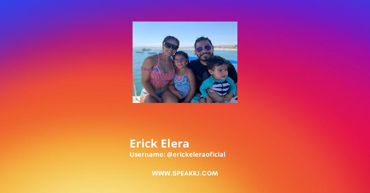 Erick Elera Instagram Stats