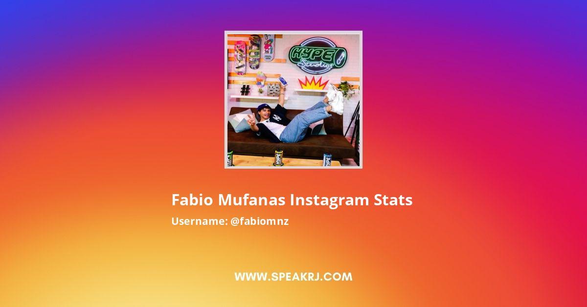 Fabiomnz Instagram Stats