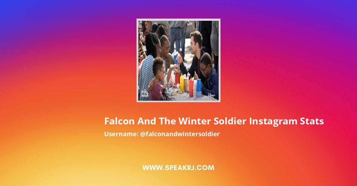 Falcon and the Winter Soldier Instagram Stats