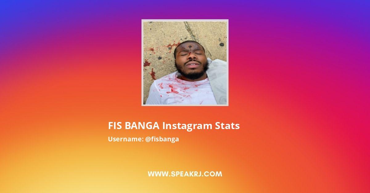 FIS BANGA Instagram Stats