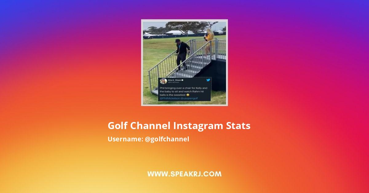 Golf Channel Instagram Stats