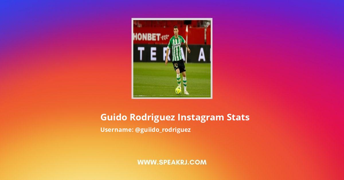 Guido Rodriguez Instagram Stats