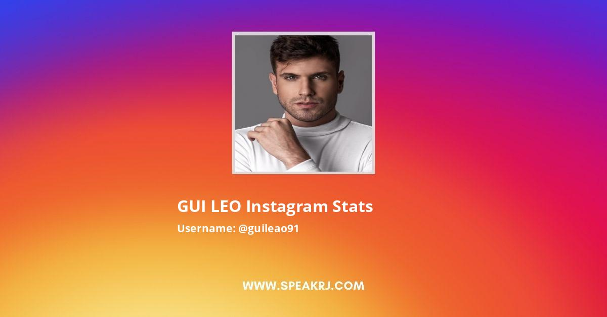 Guileao91 Instagram Stats