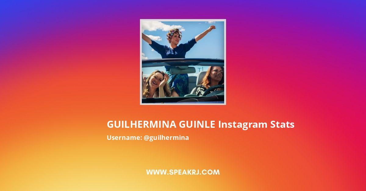 GUILHERMINA GUINLE Instagram Stats