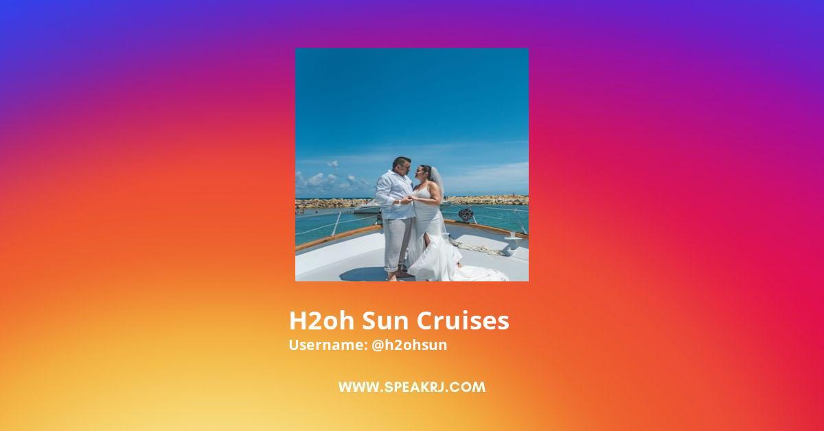 h2oh Sun Cruises Instagram Stats