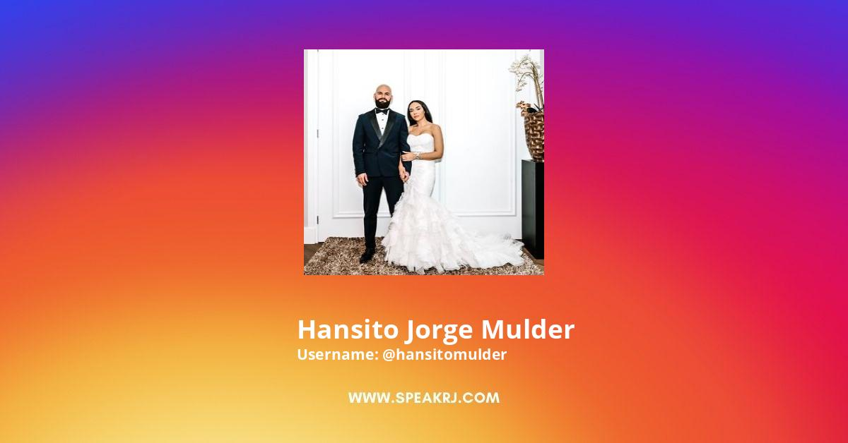 Hansito jorge Mulder Instagram Stats