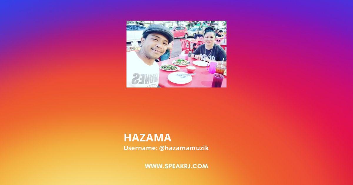 HAZAMA Instagram Stats