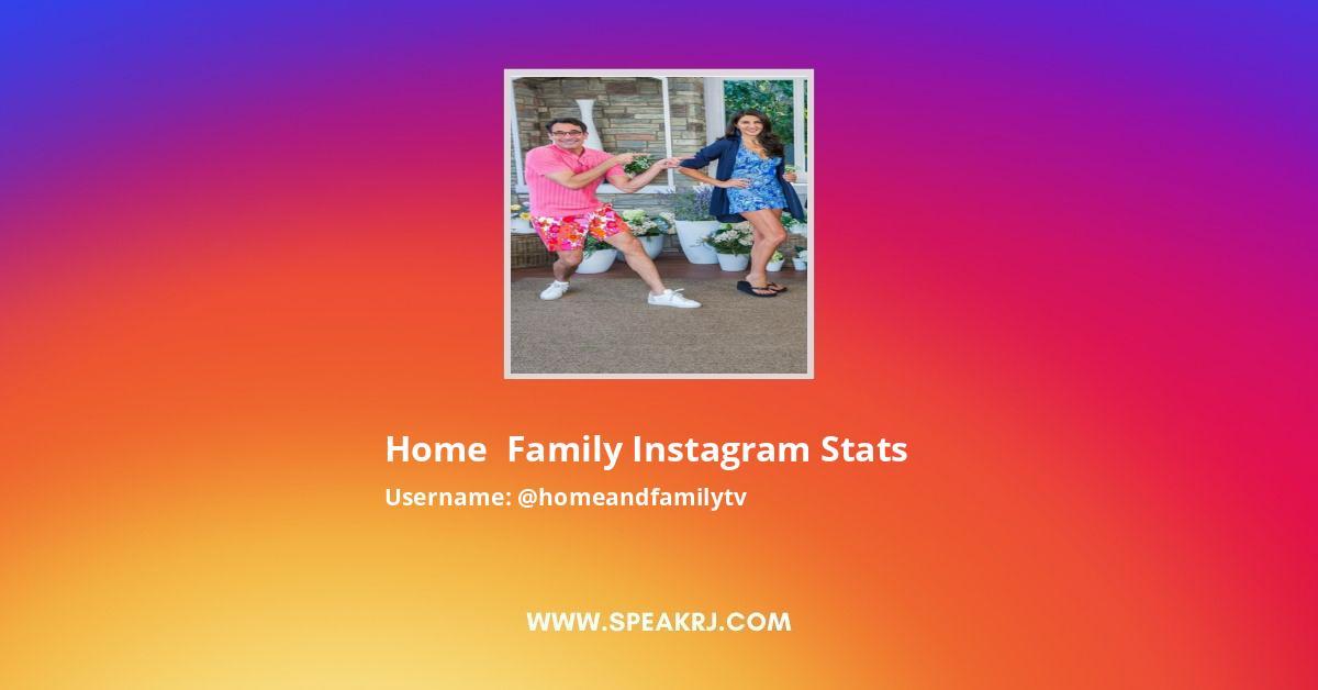 Homeandfamilytv Instagram Stats