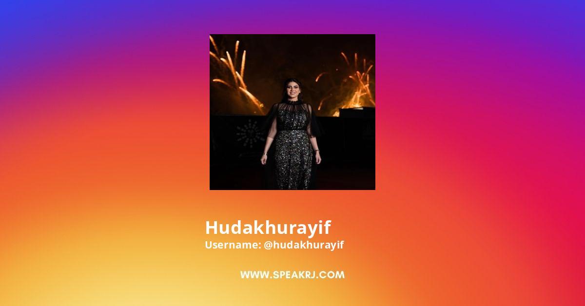 Hudakhurayif Instagram Stats