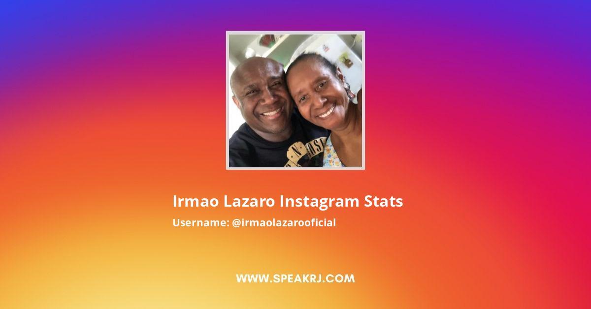 Irmaolazarooficial Instagram Stats