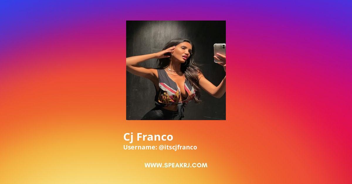 Cj Franco Instagram Stats