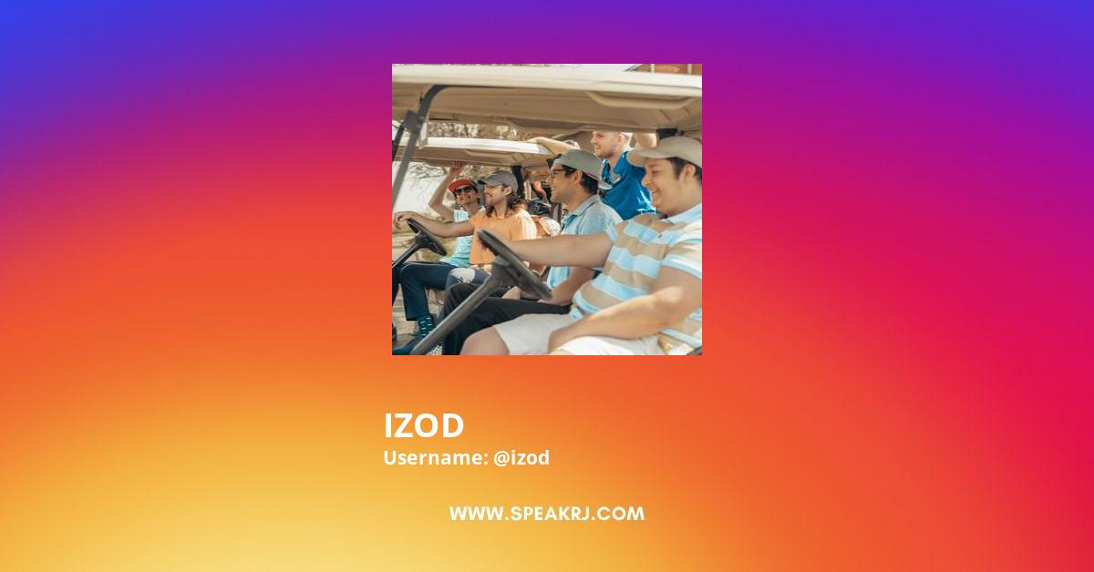 IZOD Instagram Stats